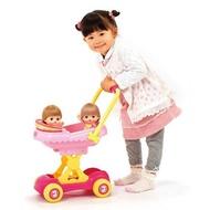 💖現貨 小美樂娃娃 雙人遮陽小推車 小美樂雙人推車 小美樂推車 娃娃車