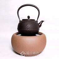 台灣手工製陶瓷黑晶面板遠紅外線電熱爐 火山泥 電陶爐 手拉胚搭配鑄鐵壺茶壺 煮茶煎茶燒茶 燒水煮水