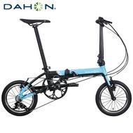 DAHON大行 K3 14吋3速鋁合金輕量僅8.1kg折疊單車/自行車-天藍色