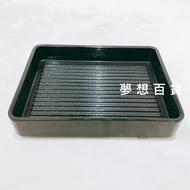418 黑色肉片盒 堆疊肉盤 燒烤肉便盤 火鍋肉片盤 方盤 長方肉盤(伊凡卡百貨)