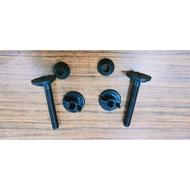 GS MALL 台灣製造 TOTO/HCG 通用款 馬桶蓋螺絲包 (顏色隨機)