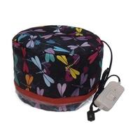 หมวกวิกผมไฟฟ้า3เกียร์,เครื่องเป่าผมหมวกน้ำมันใช้อบบำรุงบำรุงผมเครื่องทำผมไอน้ำสปาร้านเสริมสวย110/220V