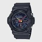 CASIO卡西歐  G-SHOCK系列 科技感多功能手錶 (GAS-100BMC-1A)-霧黑
