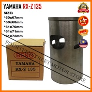 Yamaha RX-Z 135 RXZ135 RXZ 67mm~72mm Cylinder Liner Sleeve Sarung Racing Motorcycle Motosikal Engine Blok Block Piston