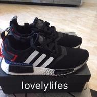 Adidas NMD R1 Boost 日本限定 白紅 黑紅 黑白 日文 男女鞋 EF2357 EF0753