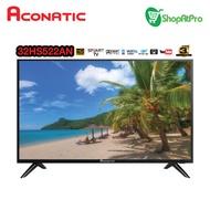 Aconatic สมาร์ททีวี HD ขนาด 32 นิ้ว รุ่น 32HS522AN Android 8.0 รับประกันศูนย์3ปี