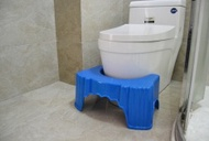 Anti-skid Toilet Stool, Adult Children Toilet Stool, Old People Toilet Bench Stool - intl