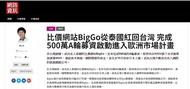 比價網站biggo從泰國紅回台灣-完成500萬a輪募資啟動進入