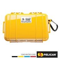 ..  美國 PELICAN 1040 Micro Case 微型防水氣密箱 黃色 公司貨