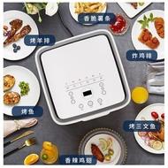 韓國現代空氣炸鍋家用超大容量12L無油速炸鍋烤箱二合一透明可視 快速出貨