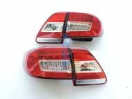 大禾自動車 光柱 紅白 LED 尾燈 適用 TOYOTA ALTIS 10 11 12年 10.5代