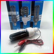 หลอดไฟล่อแมง ไฟล่อแมลง ไฟล่อแมงดา หลอดUV  Blacklight ขั้วE27  40W 30W 220V 12V