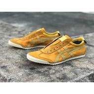 รองเท้า Onitsuka Tiger Nippon Made - Mexico 66 Slip-on สีเหลือง วินเทช 2018 ของแท้