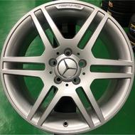 林口輪胎批發-優質中古圈-賓士AMG原廠C系列--粉體烤漆品17吋鋁圈W204