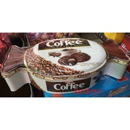 sns 古早味 進口食品 塔雅思咖啡夾心糖禮盒 塔雅思 咖啡 夾心糖 咖啡糖 600公克 產地 土耳其