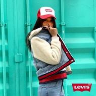 【LEVIS】女款 牛仔外套 / Original版型 / 紅藍條紋下擺(亞洲限定)
