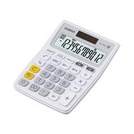 CASIO 新野菜機系列12位數計算機-白色 (MJ-12VCB-WE)