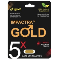IMPACTRA GOLD 5X FOR MEN'S VITALITY