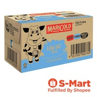 Marigold UHT Low Fat Milk, 12 x 1L