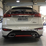 納智捷 LUXGEN 2017 U6 GT 空力套件- 後下巴 ABS