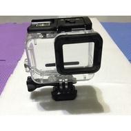 [二手全新]Gopro hero5 hero6 副廠防水殼,免拆鏡頭蓋