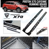 PROTON X70 PREMIUM ORIGINAL CAYENNE STYLE RUNNING BOARD/SIDE STEP