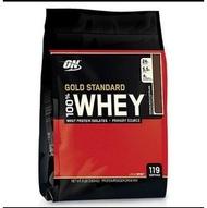 【賠本價3249元】ON Whey 乳清蛋白 金牌頂級高蛋白 雙濃巧克力(8磅 / 119份)