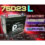 【士丞電池】杰士 GS 統力 汽車電池 75D23L 85D23L