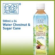 [ ♥ BEST SELLER ♥ ] WATER CHESTNUT and SUGARCANE - 500ml X 24 BOTTLES
