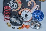 【LFM】壞熊貓 DRG DRG158 傳動套件組 普利盤 碗公 離合器 普利珠