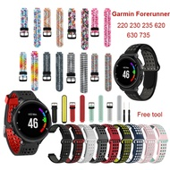 Silicone Replacement Watch Strap For Garmin Forerunner 230 235 220 620 630 735 Sports band