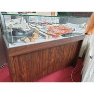 二手 8成新 三抽屜 展示櫃 玻璃櫃 通訊行手機櫃