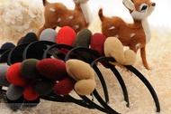 【聖誕頭飾】 聖誕節髮飾 麋鹿髮夾 麋鹿髮箍 頭箍 頭飾 COSPLAY 角色扮演 【狂麥市集】AP0673
