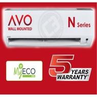 (KLUANG, JOHOR ONLY) Acson 1.0HP 1.5HP 2.0HP 2.5HP Aircond AVO Series - Non Inverter (R32)