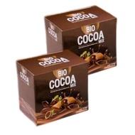 Bio Cocoa Mix ไบโอ โกโก้ มิกซ์ By Khunchan มี 10 ซอง (2 กล่อง)