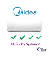 Midea OS SERIES System 2 Air Con  **4 TICKS** (SMKS-09 / 2 +MS40D-21)