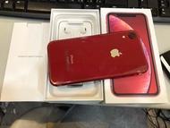 二手iphone XR 128G 紅色 原廠保固2020/04/25