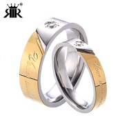 Stainless Steel Jewelry Ring Popular Decorative Ring Couple Index Finger Fashion Rings