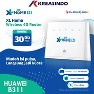 Huawei B311 Modem Home Router Wifi 4G Free XL Go IZI 30GB