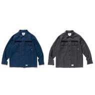 WTAPS 18SS BUDS LS 01 / SHIRT. LICO. CHAMBRAY 真品 9成新