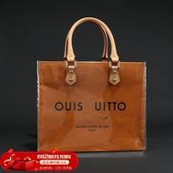 【lhq726】FLIGHT LV SKY紙袋改造 大容量手提黃色pvc包袋定制材料包配件