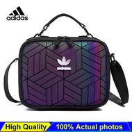 ADIDAS_Issey Miyake_3D Sling Shoulder Bag Fashion Trend New Style Women's Outdoors Leisure Sports Crossbody Bag / Chest Bag / Travelling Waterproof Bag