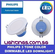 Philips DN029 LED Downlight - 3 Color Dimmable - New Model