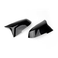 BMW後視鏡蓋適用F20 F21 F22 F30 F32 F36 X1 F87 亮黑-極限超快感
