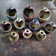 獨一無二手拉培陶瓷造型花盆