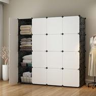 E&J【004009】Mr.Box 加大型16格16門收納櫃/置物櫃/書櫃-黑白款、磨砂門款,兩種可選