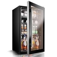 紅酒櫃  Fasato/凡薩帝 BC-95冰吧冰箱紅酒櫃恒溫酒櫃家用展示冷藏小冰櫃ATF