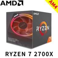 AMD RYZEN R7 2700X 8核16HT/3.7GHz Turbo4.35GHz 12nm/無內顯/105W
