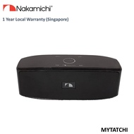 Nakamichi myTatchi Bluetooth Speaker With Touch LED Control (Black)