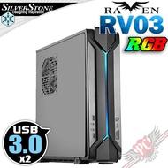 PC PARTY 銀欣 SilverStone 烏鴉 RAVEN RVZ03B-W USB3.0 鋼製機身
